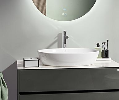"""空间自""""有""""主义 卫浴个性全开——德国唯宝天际   Horizon 系列浴室家具全新上市"""
